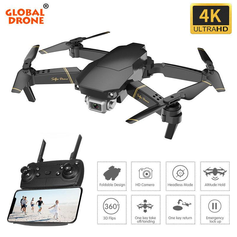 4K Drone EXA GD89 Dron Com HD Camera Altitude Hold Toys for Boys FPV RC Drones with Camera HD Quadrocopter VS SG106 E520 E58 201105