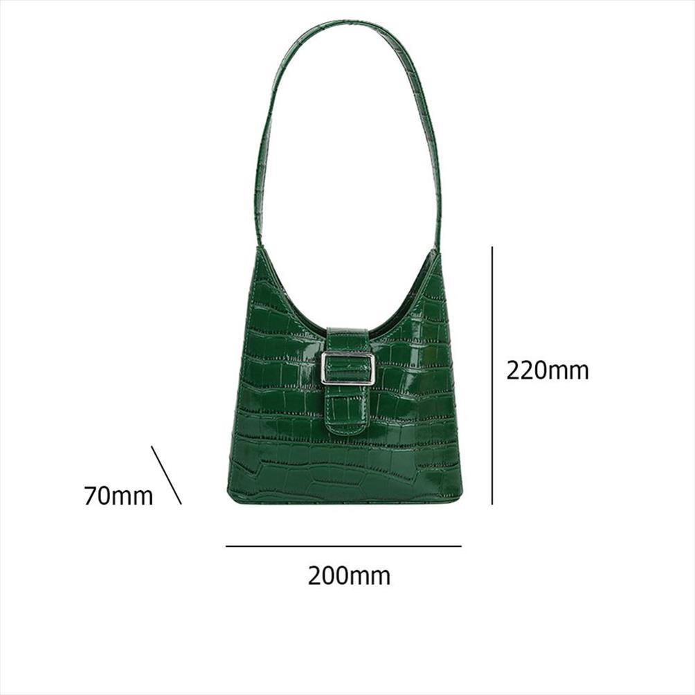 Jacaré Bolsa para mulheres 2020 Couro PU Mulheres Bolsa de Ombro Mini crocodilo malas Saco de compras de transporte elegante Tote Gota
