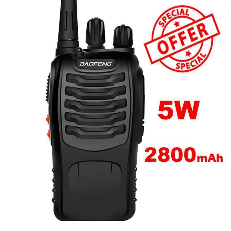 Baofeng BF-888S Walkie Talkie Portable two way CB radio BF888s 5W 400-470 MHz BF 888S Comunicador Transmitter Transceiver radio1