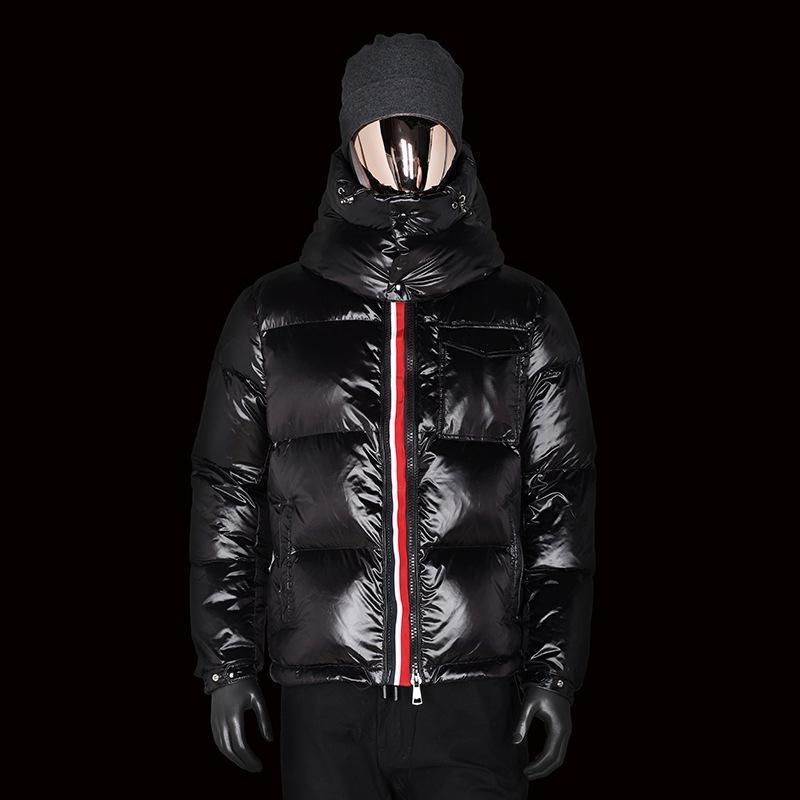 Lujo 2020 nuevo invierno de manga larga chaqueta de abrigo de la cinta más gruesa capucha de los hombres para el ganso invierno de los hombres abajo chaqueta de invierno ja