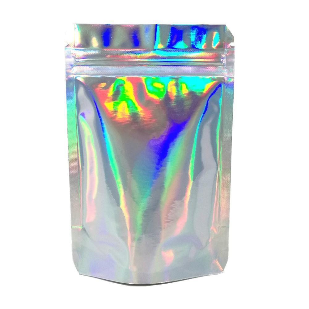 100 pcs 8.513cm 11 cores levantam a folha de alumínio fecho fechado de varejo pacote de armazenamento de varejo auto selo mylar folha nuts pack h bbyuwf