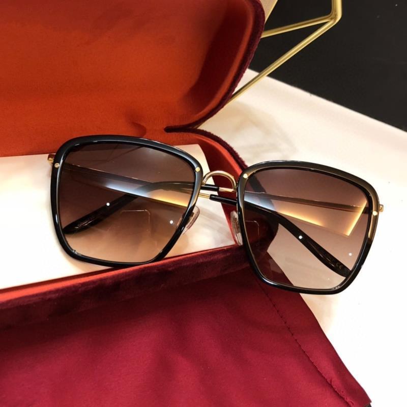 Novo Top Protects Sun Gafas Sunglasses Box 0673 Olhos com óculos de sol estilo de moda qualidade lunettes mulheres de sol óculos de soleil mens xnvr
