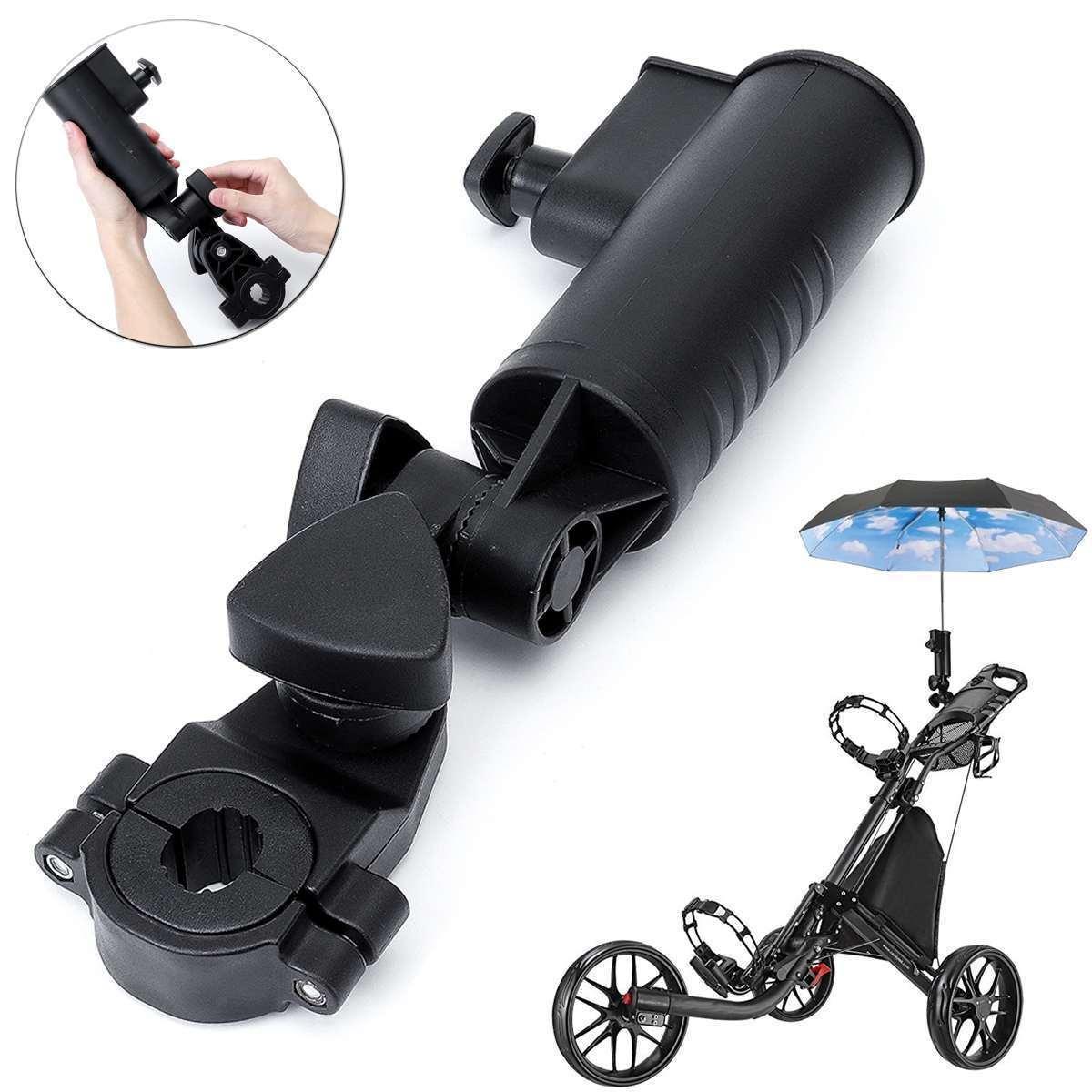 حامل مظلة قابل للتعديل العالمي مع 3 مقاطع الحجم، حامل ل عربات التي تجرها الدواب عربة الطفل عربة جولف عربة الصيد الدراجات 201026