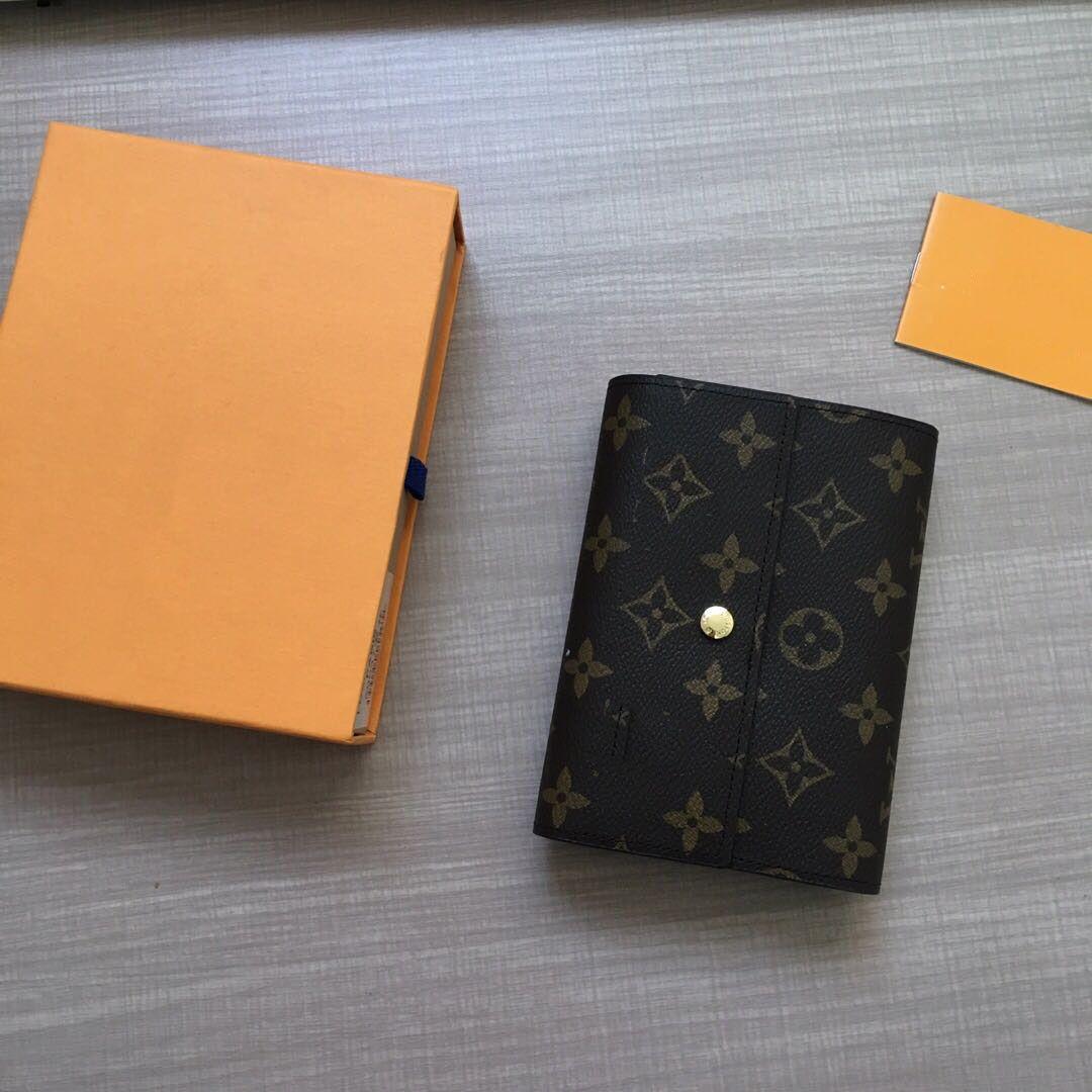 محفظة الرجال مشبك قصيرة مع التعبئة والتغليف