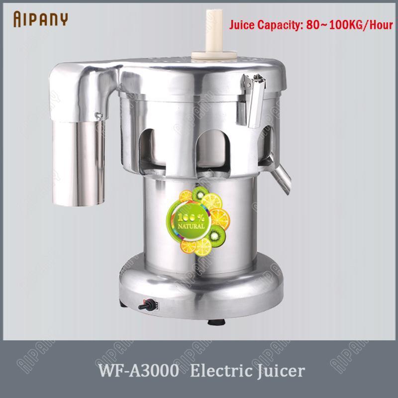 WF-A3000 / B3000 электрической соковыжималка коммерческих фруктов соковыжималка оранжевой нержавеющей стали соковыжималка сок процессор прижимного
