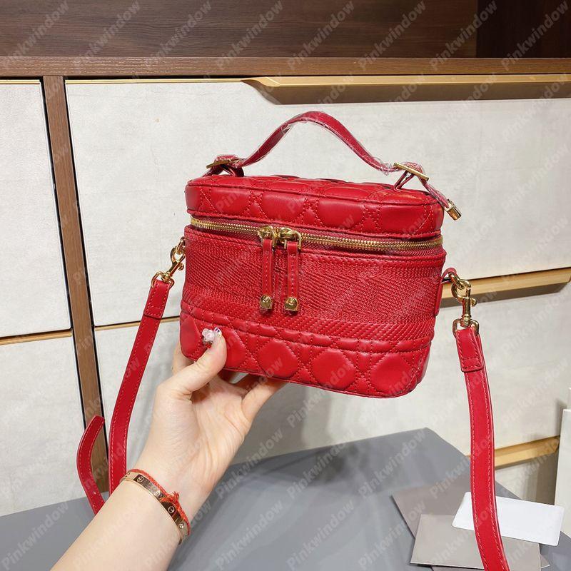 2021 حقيبة يد إمرأة حقائب السفر الغرور حالة حقيبة crossbody مع d luxurys مصممي حقائب الكتف حقيبة المحافظ حالة ماكياج P21012101L