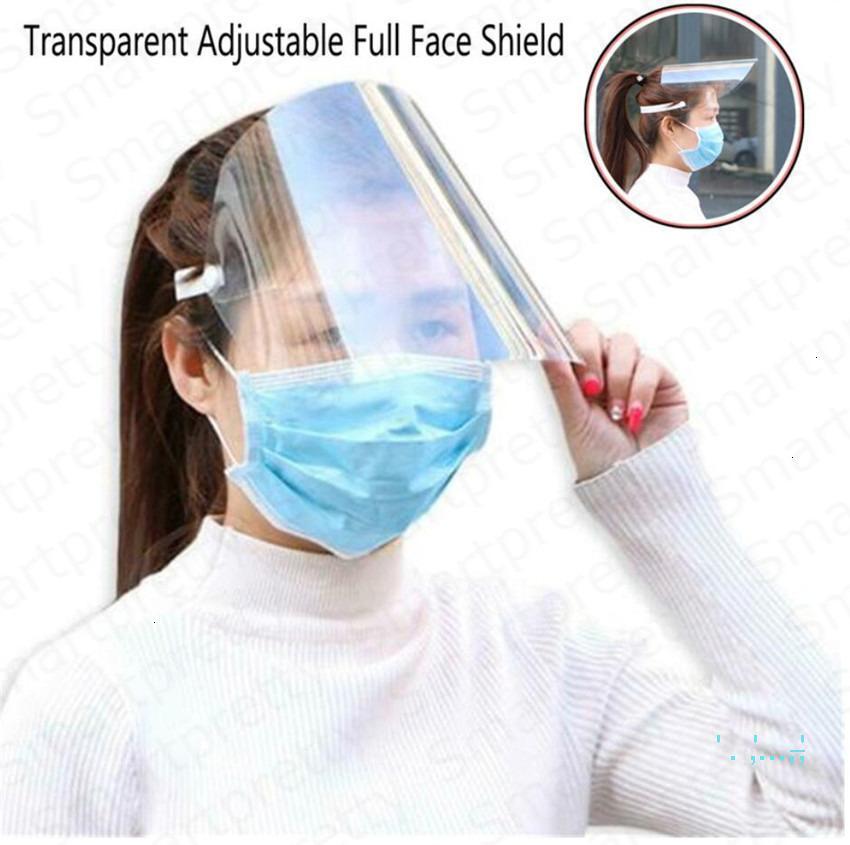 Koruyucu Anti-Sis Çocuklar Tam Toz Yetişkinler Yüz Kalkanı HD Şeffaf Temizle Yağ-Splash Sprey Kanıtı Güvenlik Maskesi Açık E4204