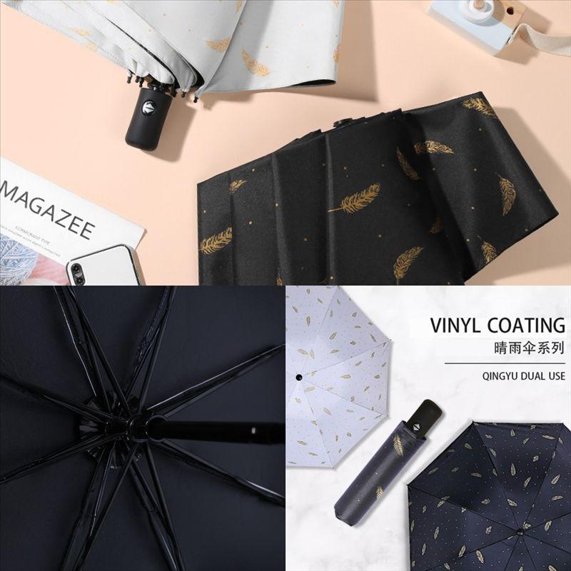 Illustration Günstigste Doppelschicht Sunny Regenschirm in der Designer aus hochwertiger Griff Wasserdichte Regenschirm umgekehrt Rainy C Winddichte Rückseite