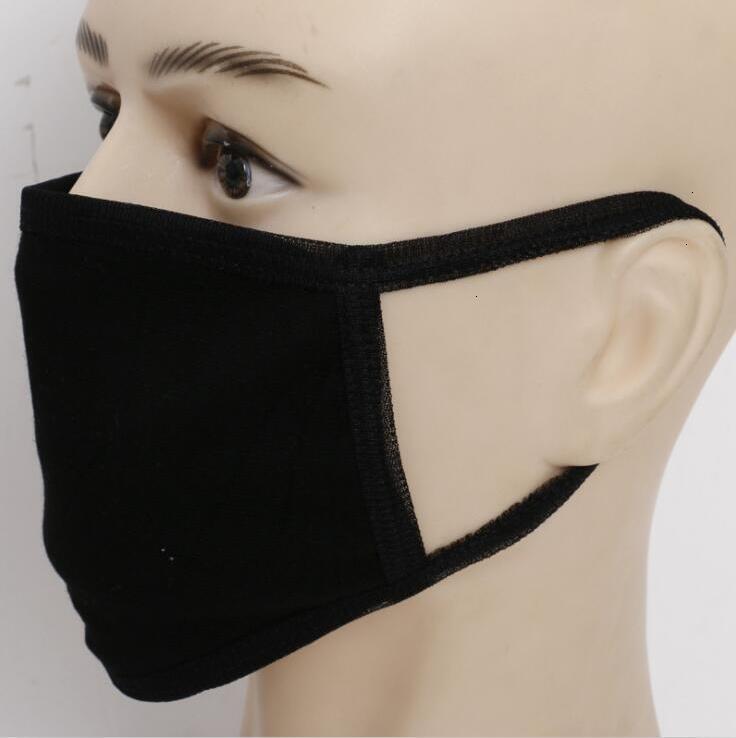 Fabrik3Z5Mask Unisex wiederverwendbar PM2.5 Anti-Staub-Baumwoll-Mundgesichtsmann-Mann-Radfahren mit schwarzen Mode-Masken auf Lager!
