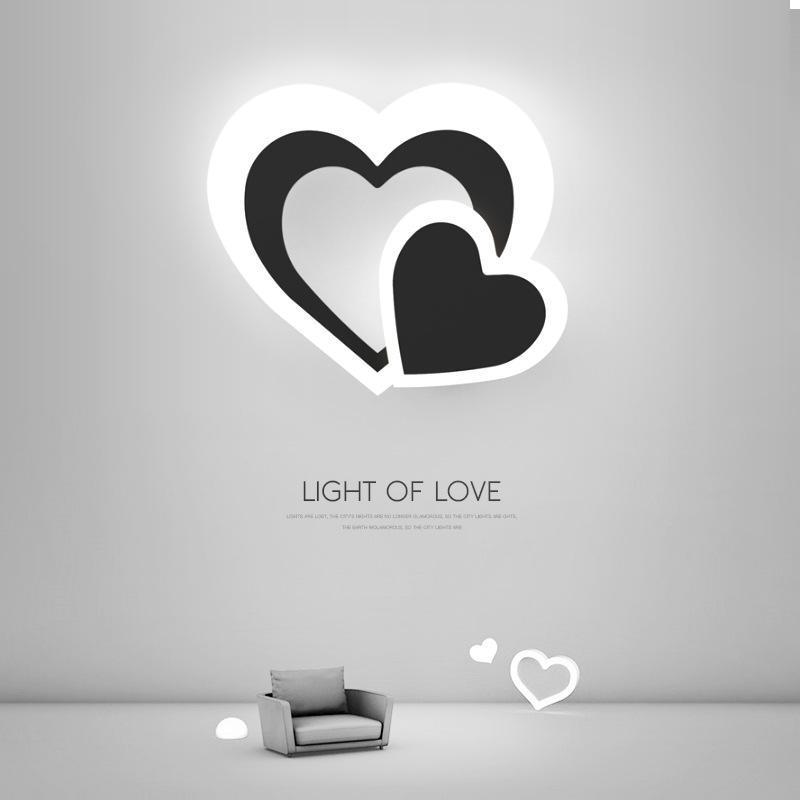 Modern LED parede de pedra luzes luminaria luminária luminária lâmpada de macaco lâmpada de sala de visitas quarto