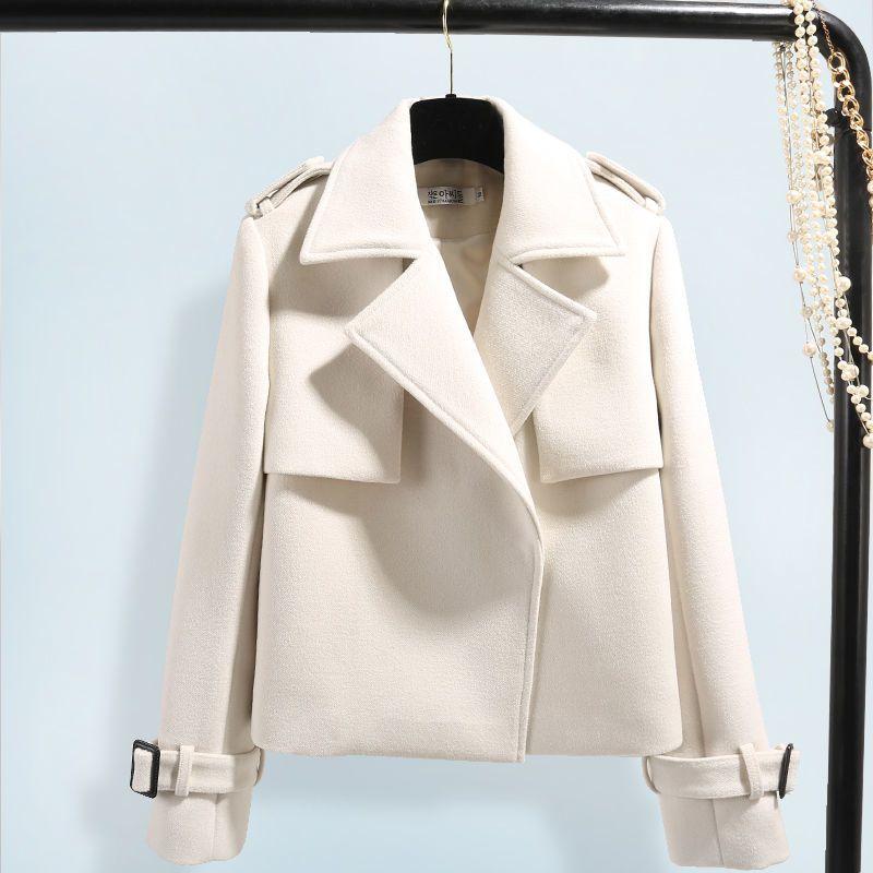 Jacket Women 2020 Autumn And Winter New Women's Woolen Short Coat Women ClothingsX1016