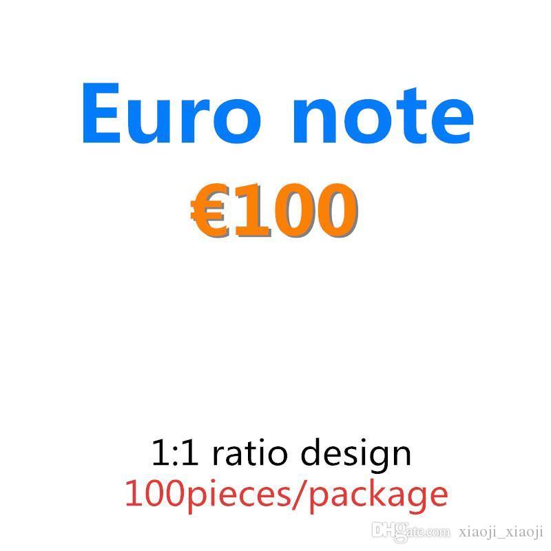 Vente en gros Atmosphère 20 PROP ARGENT BILLET BILLET 10 FAUX 50 100 EURO 04 JOUER DE L'ARGENT ARGENT EURO Movie CLOPClub Faux RLXVW