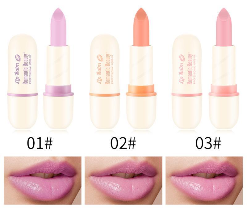 Romantic Beauty Pink Matte Lipstick Moisturizing Lip Blam Waterproof Makeup Lip Stick Liquid Long-lasting Lip Cosmetic TSLM2