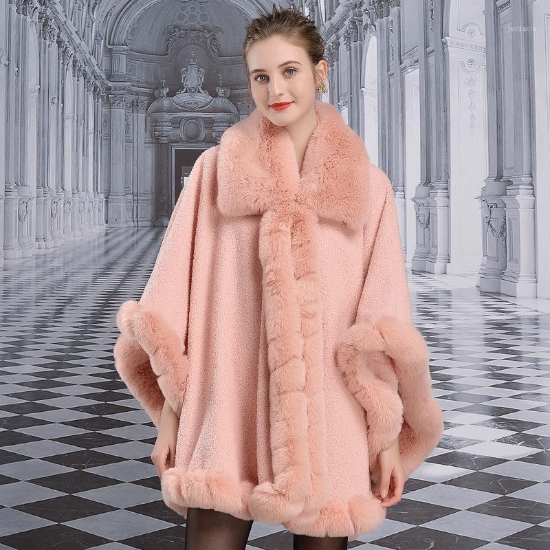 2020 mode frauen winter flaumig faux pelzmantel hochwertig dick imitierte pelz gemüse weibliche warme outwear jacke1