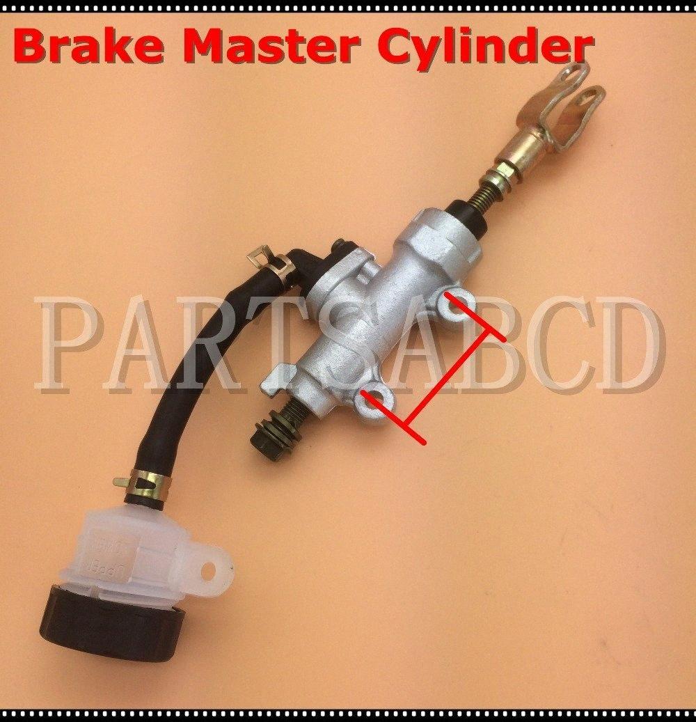 45mm Universal Rear Brake Master Cylinder 50CC 110CC 125CC 250CC ATV Dirt Bike Go Kart J5Vc#