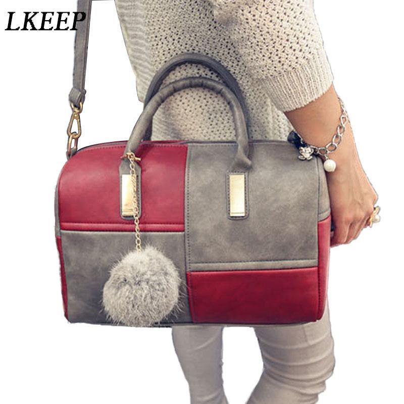 Sacs de bandoulière pour femmes pour femmes 2021 Casual poignée courte sacs à main femmes patchwork cuir sac à bandoulière grande capacité sac fourre-tout