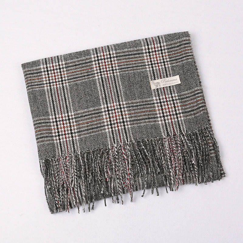 Come il cashmere Sciarpe per le donne fashion grande sciarpa scozzese Leggero Inverno scialli e impacchi 4 colori