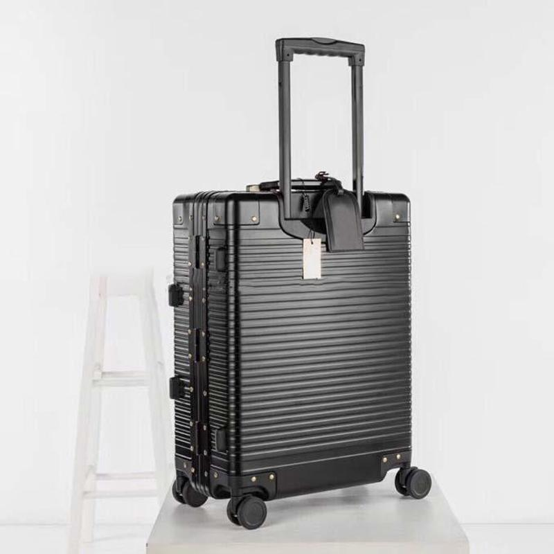 Fashion Rolling Ensembles extensibles Ensembles universels Femmes hommes Spinner Spinner Valcase Cas de chariot LuxuryCarry-Ons Bagage Sac Sacs Barding Duffel Roue SIKP