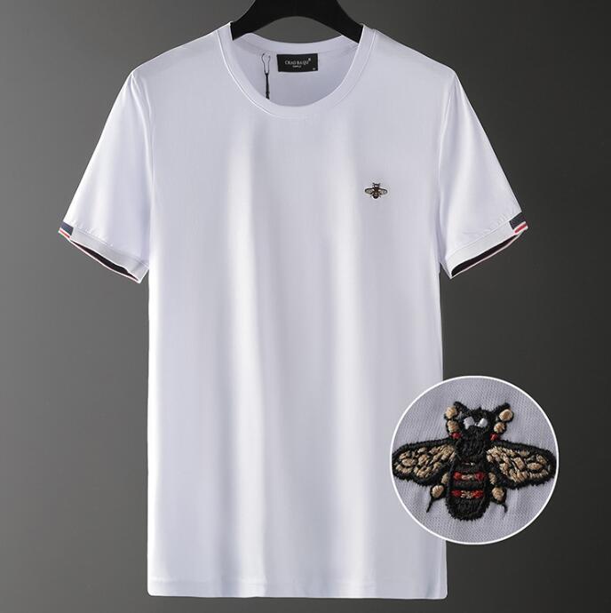 Marque Designer Hommes T-shirt Nouvelle Qualité Summer Coton Short Sleeve Sleeve Mens Designer Lettre Tees