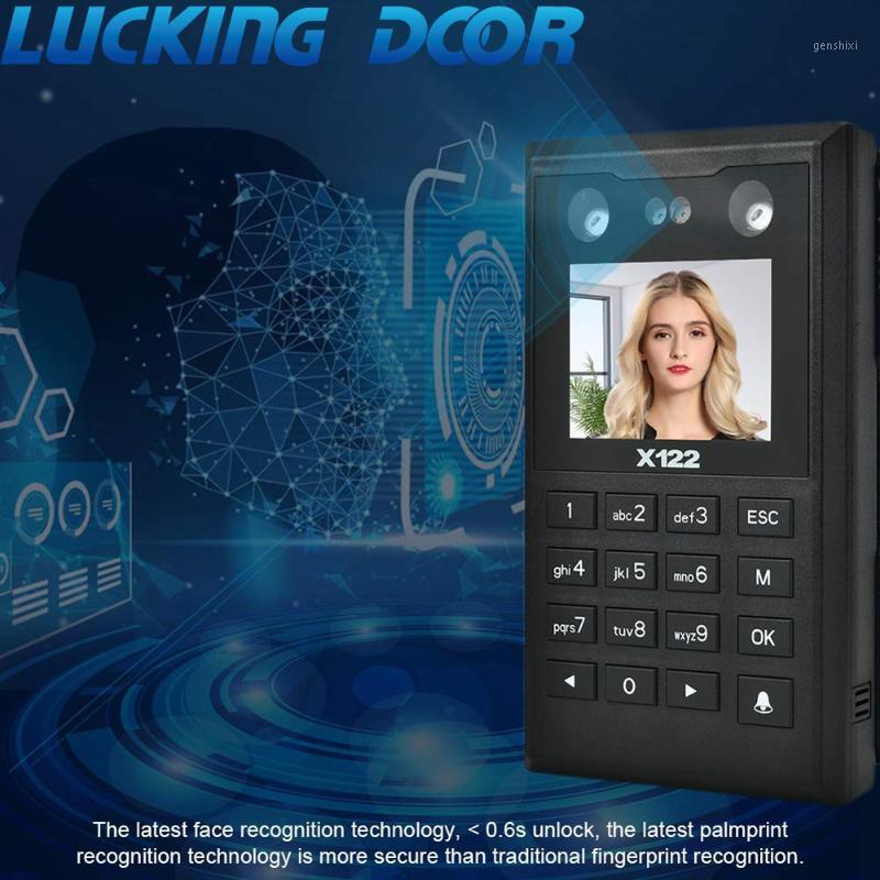 2.8 بوصة TCP / IP التعرف على مواجهة التحكم في الوصول 125 كيلو هرتز نظام لوحة المفاتيح RFID البرمجيات Biometrics Password1