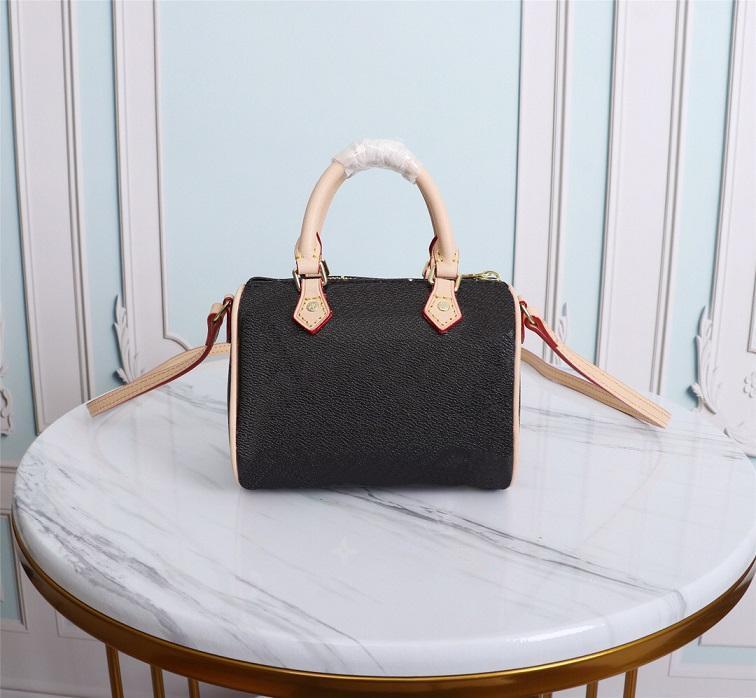Crossbody сумка сумка пыли нано кошелек женщина дизайнеры быстрые высококачественные мини-сумки M61252SHOULDER мода мода с пакетами роскоши LRMCF QRDSF