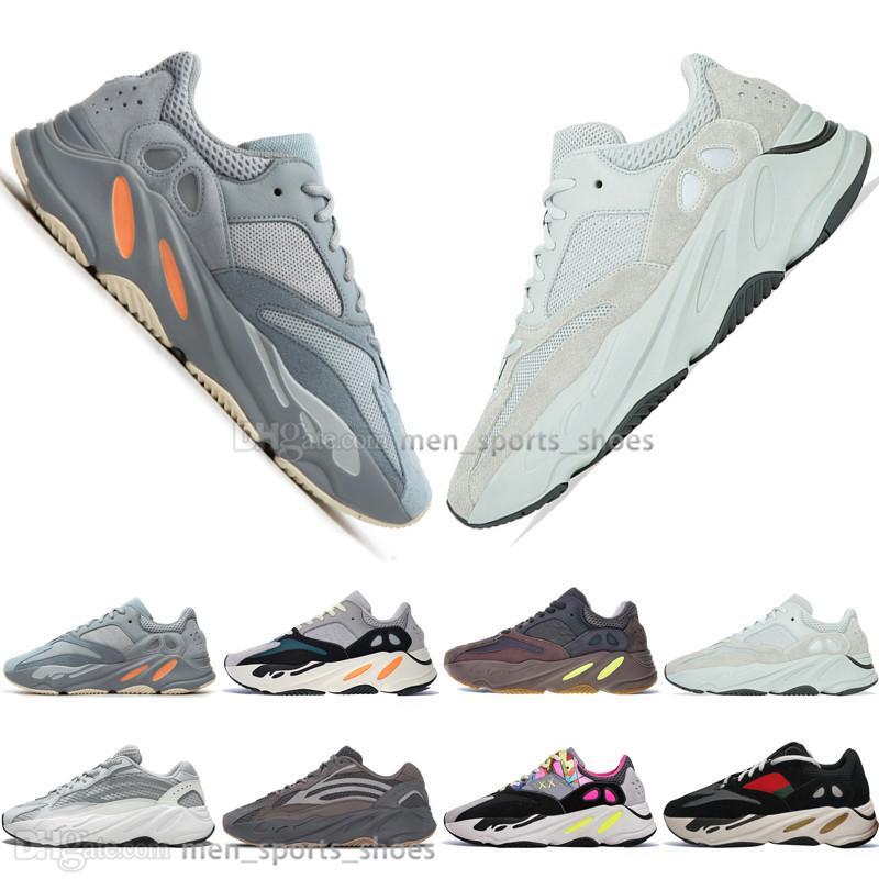 2020 con la scatola 2019 Kanye West 700 inerzia Malva di sale 700 V2 Statico Geode 3M Mens scarpe da corsa per uomini donne scarpe da ginnastica di sport