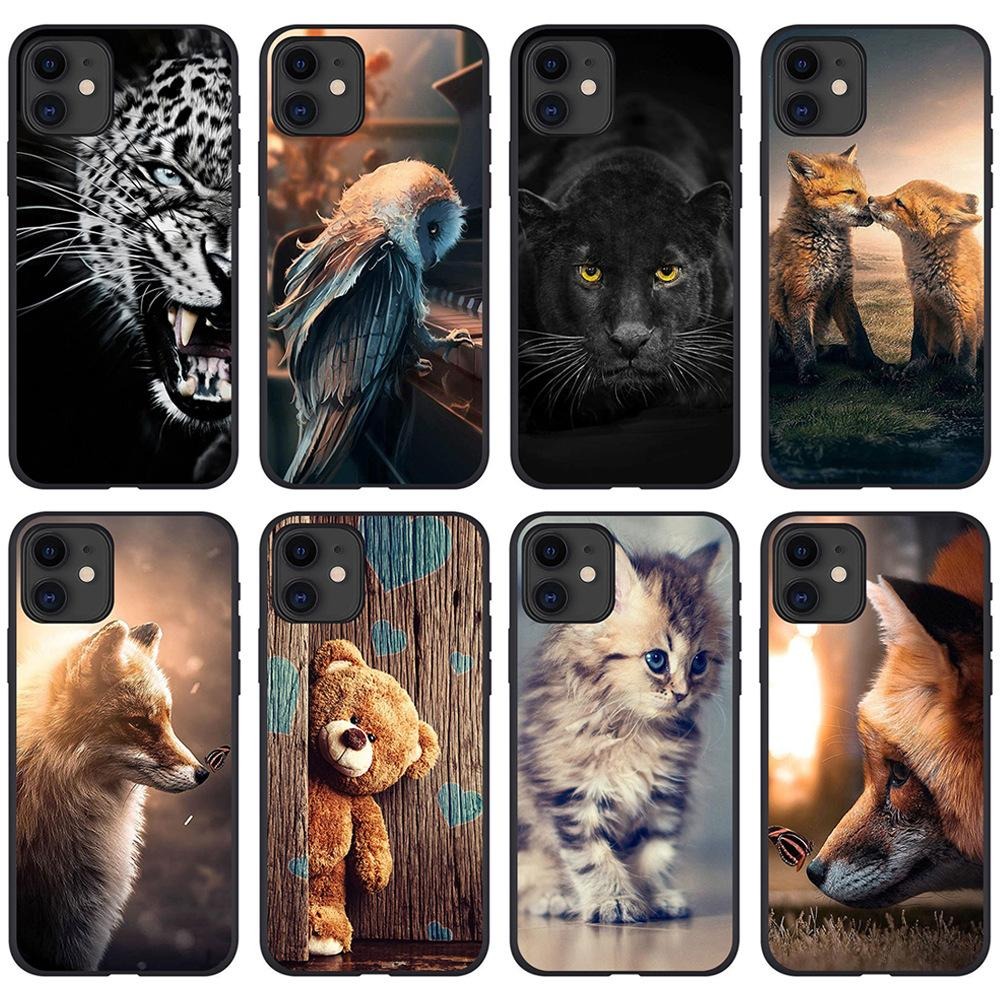 I-phone 12 Phone Case For Iphone 12 11 Pro X Xr Max Fashion Soft Tpu Cover Shell Cover Shell Cell Moblie Phone Cases