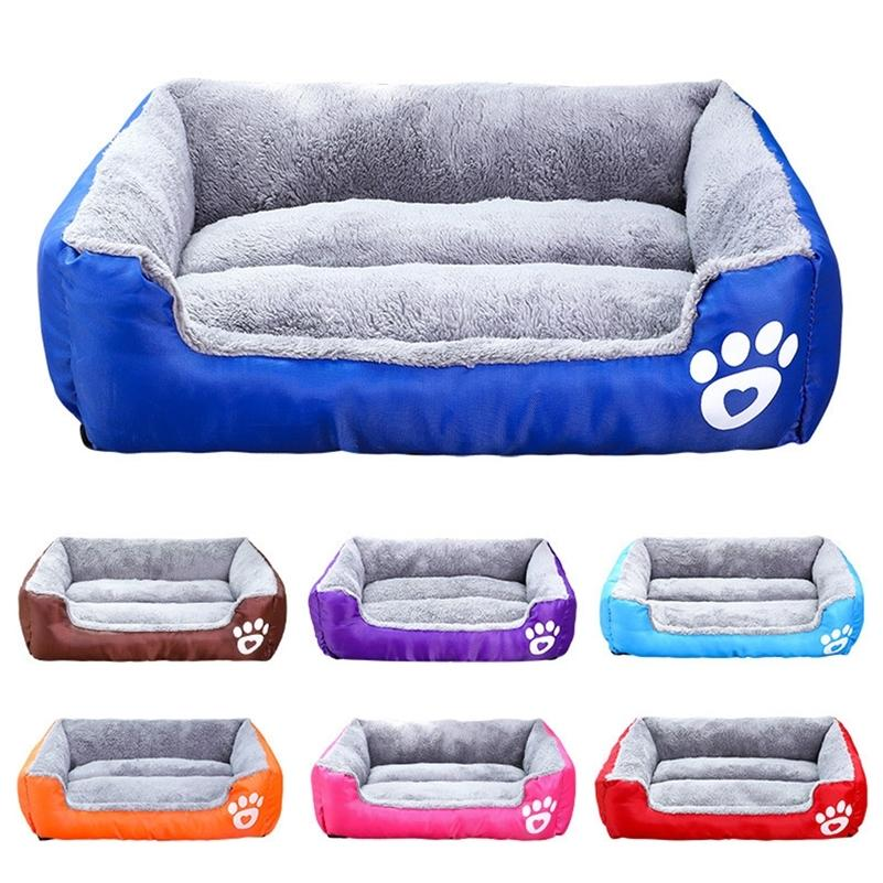 Лапы большая собака кровать кровать домашнее диван щенок водонепроницаемый питомник теплый уютный мягкий зимний кот корзина кота коврик дома Petshop CAMA Perro labrador lj201201