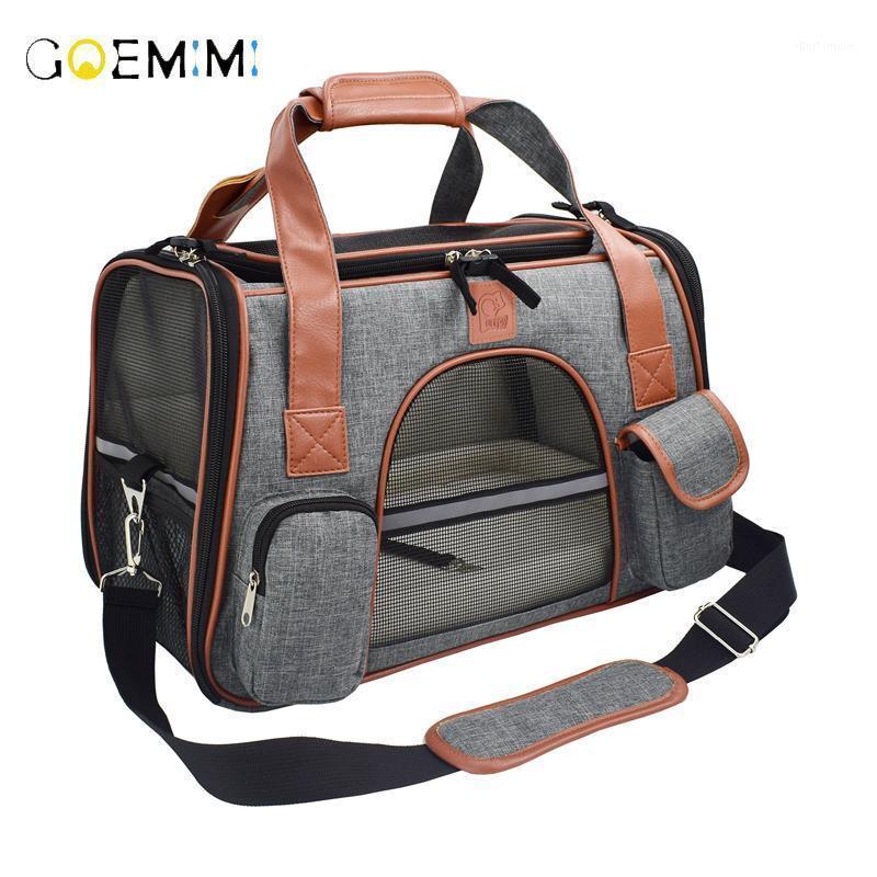 Сумки, несущие для слинг-собаки Дышащие туристические транспортные средства рюкзака Backpack мешок Pet Chihuahua Pet Products1 Cat маленькие животные Xotsg