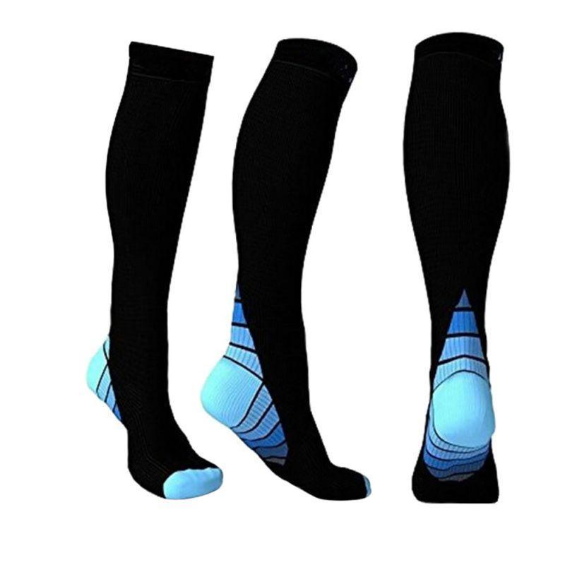 Men Women Comfortable High Stockings Compression Socks Breathable Ball Games Socks Adult Anti Fatigue Long
