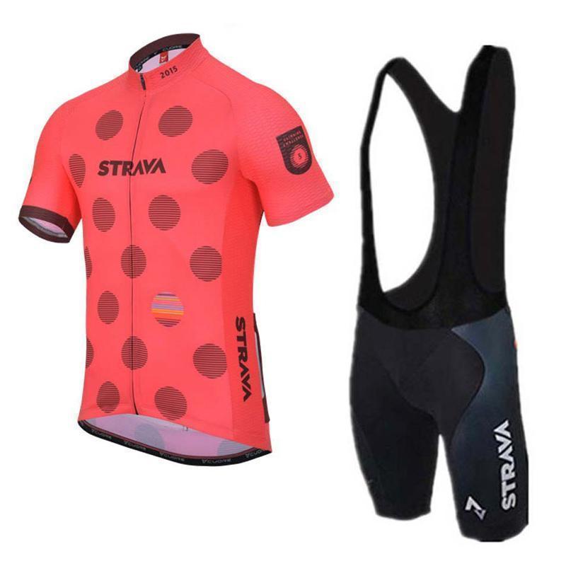 2020 Мужчины Strava задействуя Джерси Set Велогонки одежда Tour De France с коротким рукавом велосипед Открытый спортивный костюм Майо Ciclismo Y032908