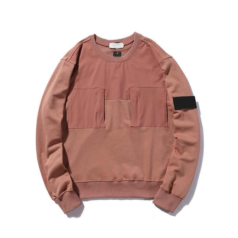 Patchwork Moda Sonbahar Erkek Tişörtü Yüksek Kalite Streetwear Kapüşonlular Giyim ile 20SF Erkekler Kadınlar Casual Hoodie