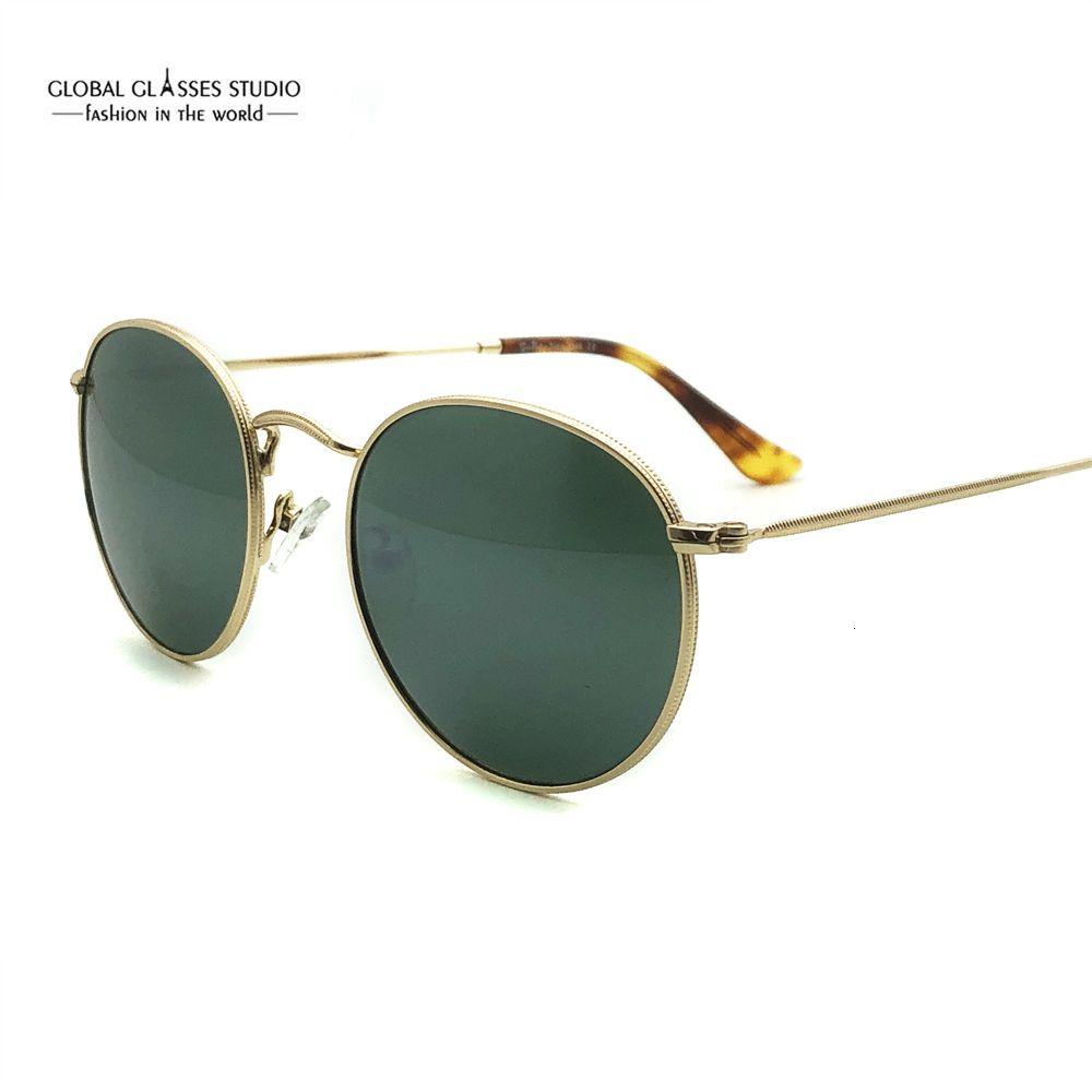Классические круглые стекла Металлических ретро очки подходят маленьким лица мужчин, женщины и подростки очки RX объектив экранного RFT7001G