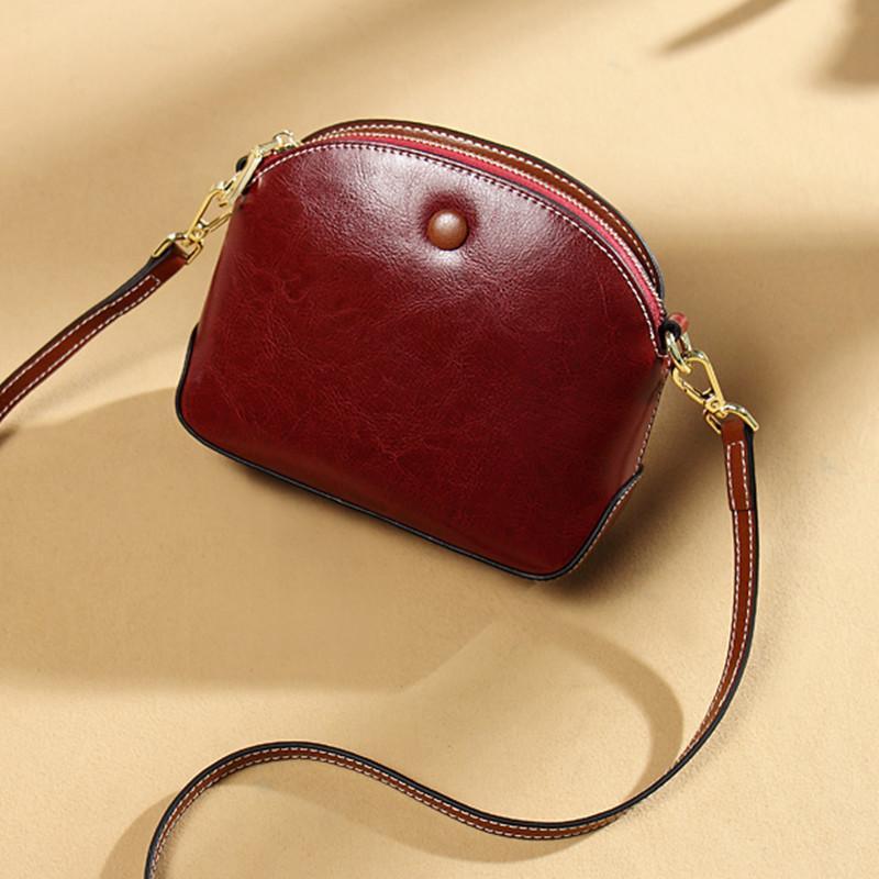 HBP new women's bag leather leather handbag ladies handbags shoulder diagonal ladies boxes one generation