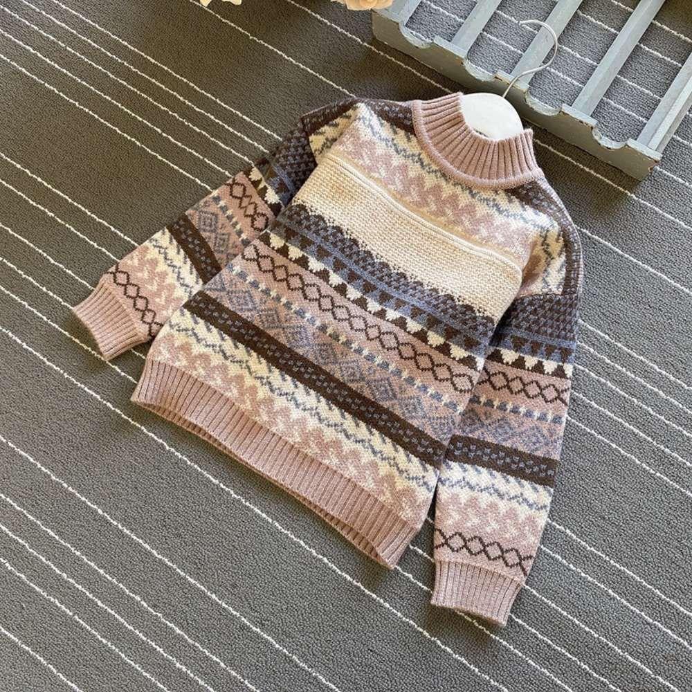 H8714 New Outono 2020 Inverno Roupas Coreanas Crianças Pullover Meninos Versátil T-shirt MEVM