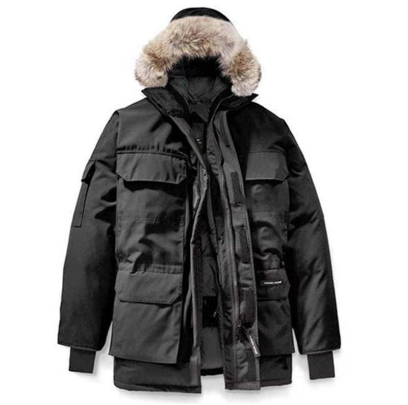 Hiver Big Goose Fashion Echauffeur Veste Expédition en plein air Hommes et femmes Veste au chaud et étanche
