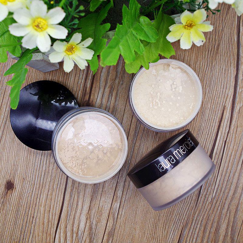 chaude Fondation Laura Mercier en vrac dropshipping Réglage poudre maquillage Fix poudre mini Pore Brighten Correcteur 3pcs