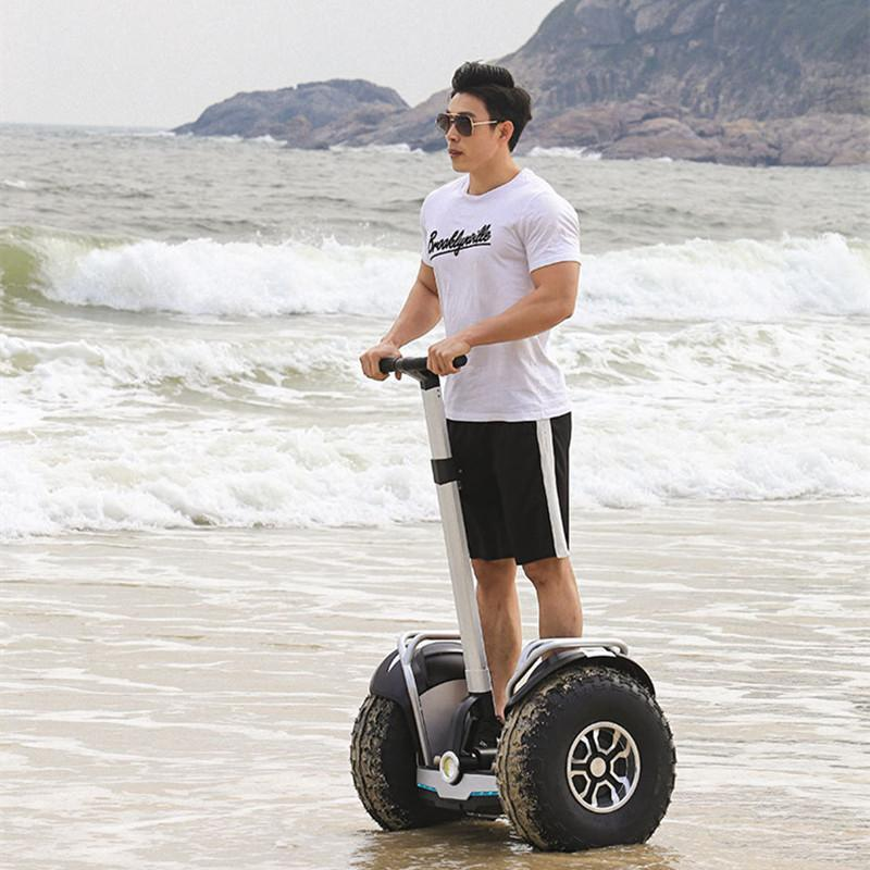 US Warehouse Daibot 2019 New Powerful Electric scooter Two Wheels Double Driver 60V 2400W Off Road Big Tire Adults Hoverboard Scooter