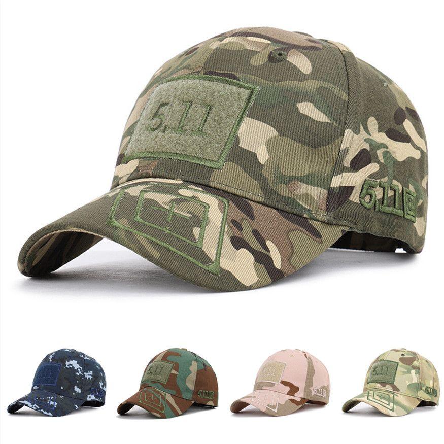 Designer Camouflage Baseball Cap Male Bone Masculino Military Hat Gorras Trucker NewTactical Men Women Cap Snapback Hat