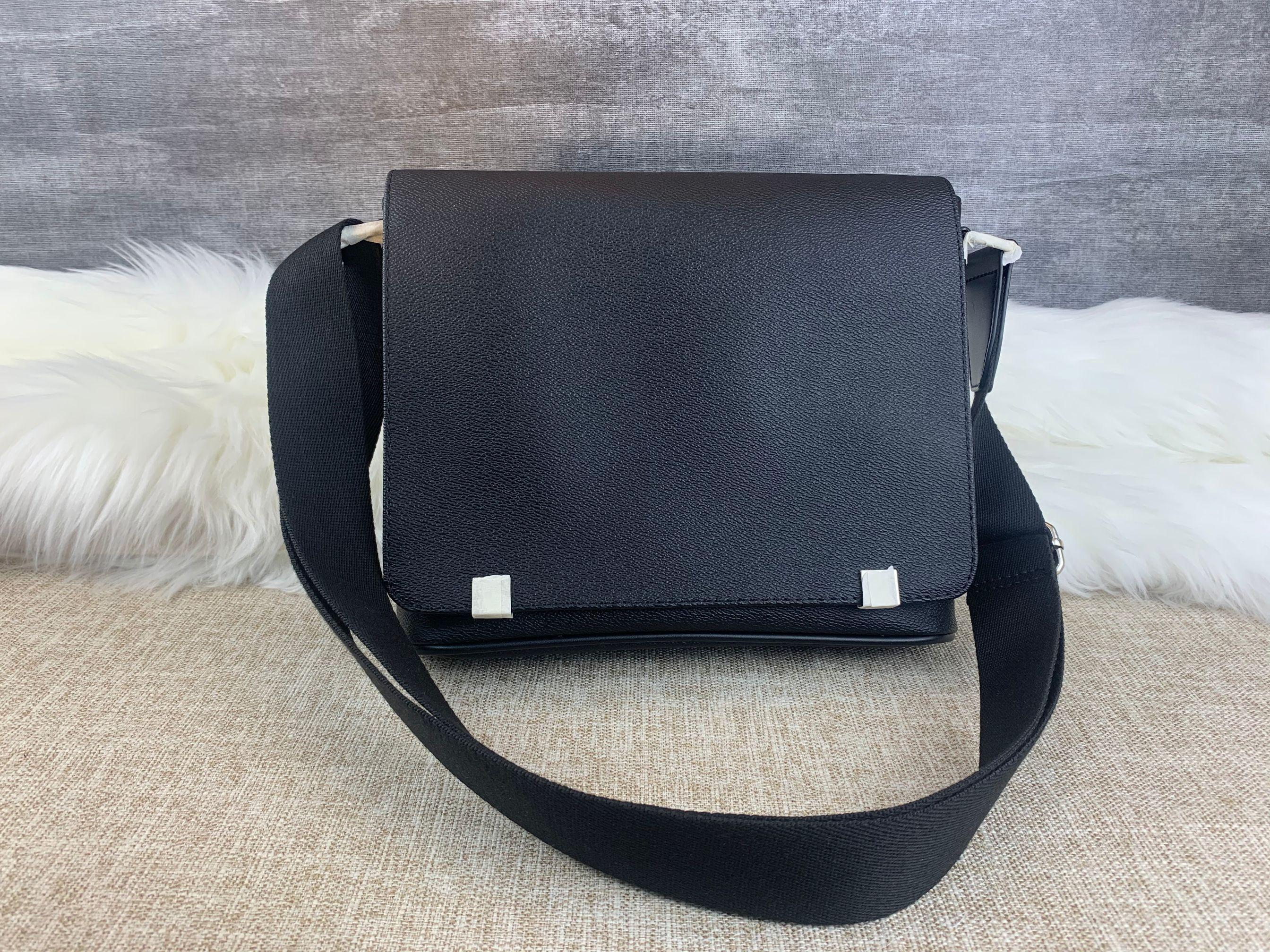 2020 Männer Messenger Bag  Man Leder Handtasche Einzelner Umhängetaschen Geldbörse Kleine