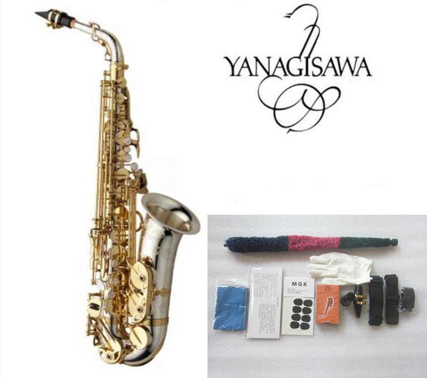 Nuovissimo Sax Yanagizawa WO37 SAXOFONO ALTO SAXHONE PLACCATO GOLD KEY PROFESSIONALE SUPER PLAY SUPER PLAY SAX Boccacepelli con custodia