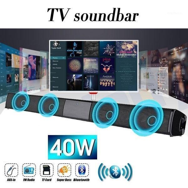 2021 Hot New Wireless Bluetooth Bluetooth Soundbar STEREO Haut-parleur Home Theater TV Sound Bar Subwoofe1