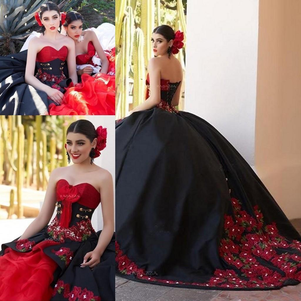 Negro vestido de baile de vestidos de quinceañera 2021 del hombro colmenas del dulce 16 de los vestidos de espalda corsé con cordones de vestidos de quinceañeras