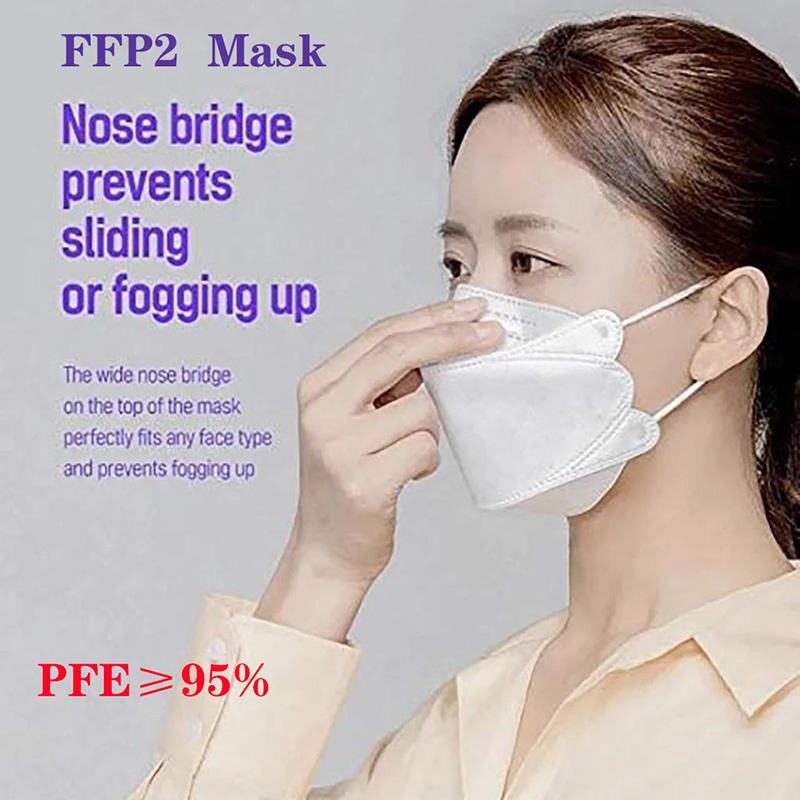 قناع KF94 للكبار الغبار والتنفس حماية قناع الوجه على شكل الصفصاف بالجملة dhl شحن مجاني سريع