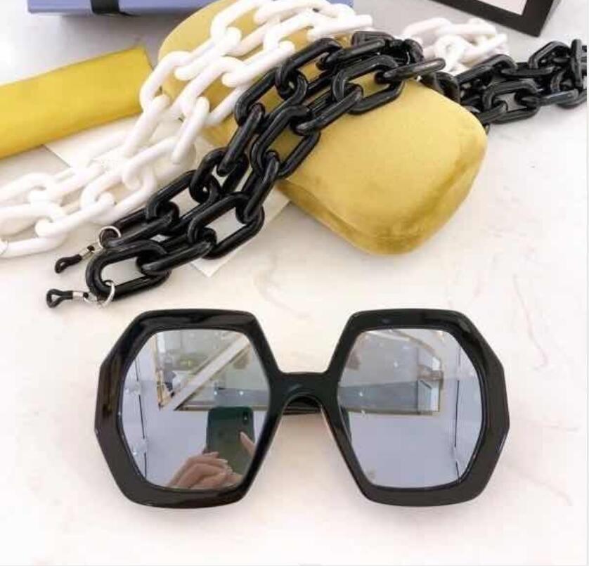 Top Hombre Sun Gafas New De Hombres Calidad Gafas de sol Mujer Gafas de sol Lunettes Estilo Protege los ojos 0772 Moda sol de gafas Soleil con HBHD