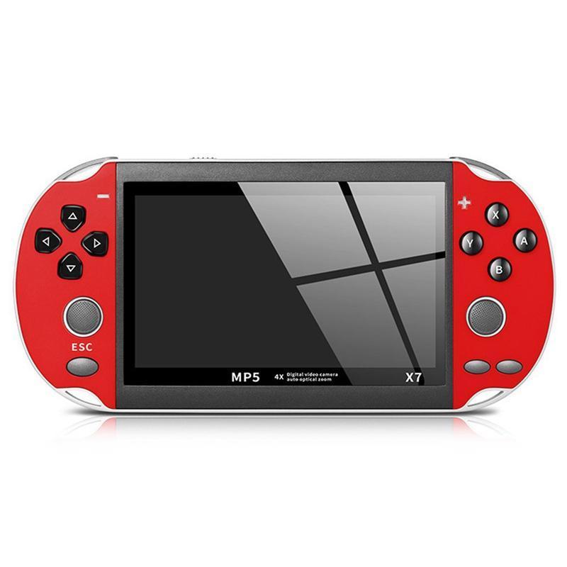 X7 de mano consola de juegos 8G mano consola de 300 pulgadas de pantalla LCD