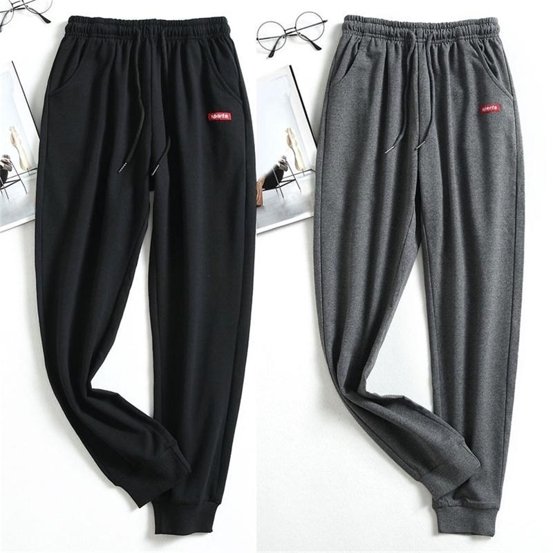 Venta caliente Pantalones deportivos casuales Hip Hop Jogging Sweetpants Jogger Joggers Sweat Pants Men Y201123