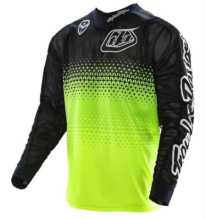 2020 Nokta TLD ortak yokuş aşağı giyim uzun kollu tişört motosiklet giyim DH dağ bisikleti giyim gömlek-road off