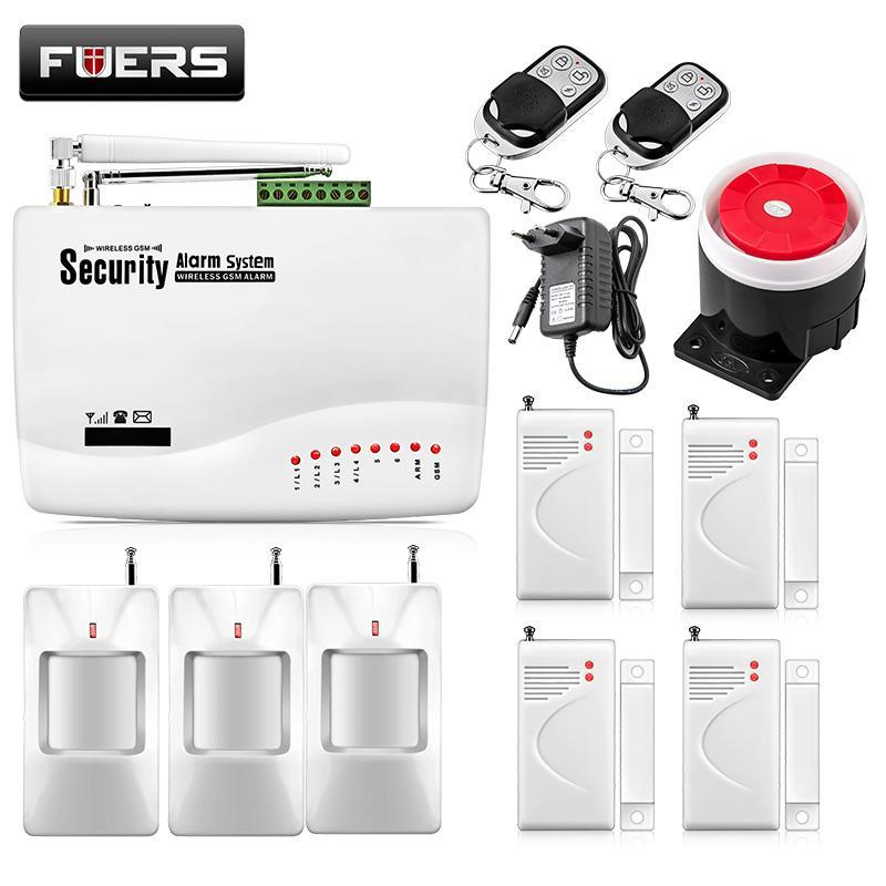 Fuers Wired Wireless GSM Alarmanlage Minländisches Wertpapier-App Kontrolle Schutz Auto Dialer SMS Anrufsteuerung Remote Alarm Kit