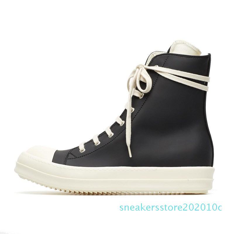 9Size 35-46 Hip Hop Mens Sneakers alte Scarpe casual amanti piattaforma retrò Tenis Sapato Masculino Sneakers carrello cerniera s10